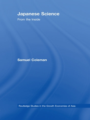 Japanese Science - From the Inside ebook by Samuel Coleman
