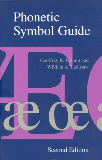 Phonetic symbol guide ebook by geoffrey k pullum 9780226924885 phonetic symbol guide ebook by geoffrey k pullumwilliam a ladusaw fandeluxe Images