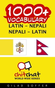 1000+ Vocabulary Latin - Nepali ebook by Gilad Soffer