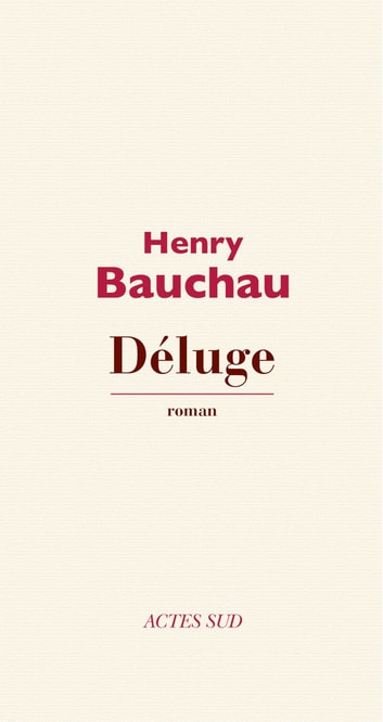 Déluge ebook by Henry Bauchau
