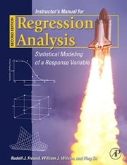 Regression Analysis IM ebook by Freund, Rudolf J.