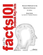 e-Study Guide for: Research Methods for the Behavioral Sciences - Statistics, Statistics ebook by Cram101 Textbook Reviews