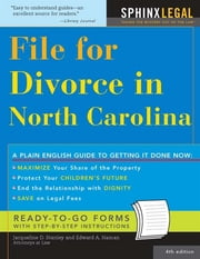 File for Divorce in North Carolina ebook by Edward Haman,Jacqueline Stanley