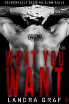 What You Want (1Night Stand) ebook by Landra Graf
