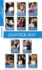 11 romans Azur + 1 gratuit (nº4037 à 4047 - Janvier 2019) ebook by Collectif