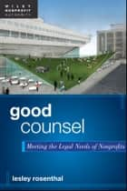 Good Counsel ebook by Lesley Rosenthal