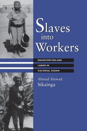 Slaves into Workers - Emancipation and Labor in Colonial Sudan ebook by Ahmad Alawad Sikainga