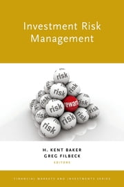 Investment Risk Management ebook by H. Kent Baker,Greg Filbeck