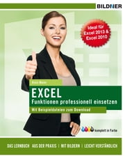 Excel Funktionen prof. einsetzen ebook by Alois Maier