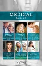 The Army Doc's Baby Secret/A Nurse to Tame the ER Doc/Saved by Their One-Night Baby/Redeeming Her Brooding Surgeon/A Nurse and a Pup to Heal ebook by Kate Hardy, Janice Lynn, Sue Mackay,...