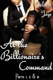 At the Billionaire's Command Parts 1, 2 and 3 Bundle (A BDSM Erotic Romance) (Dominated by the Billionaire)