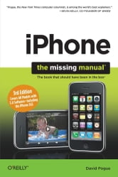 iPhone: The Missing Manual - Covers All Models with 3.0 Software-including the iPhone 3GS ebook by David Pogue