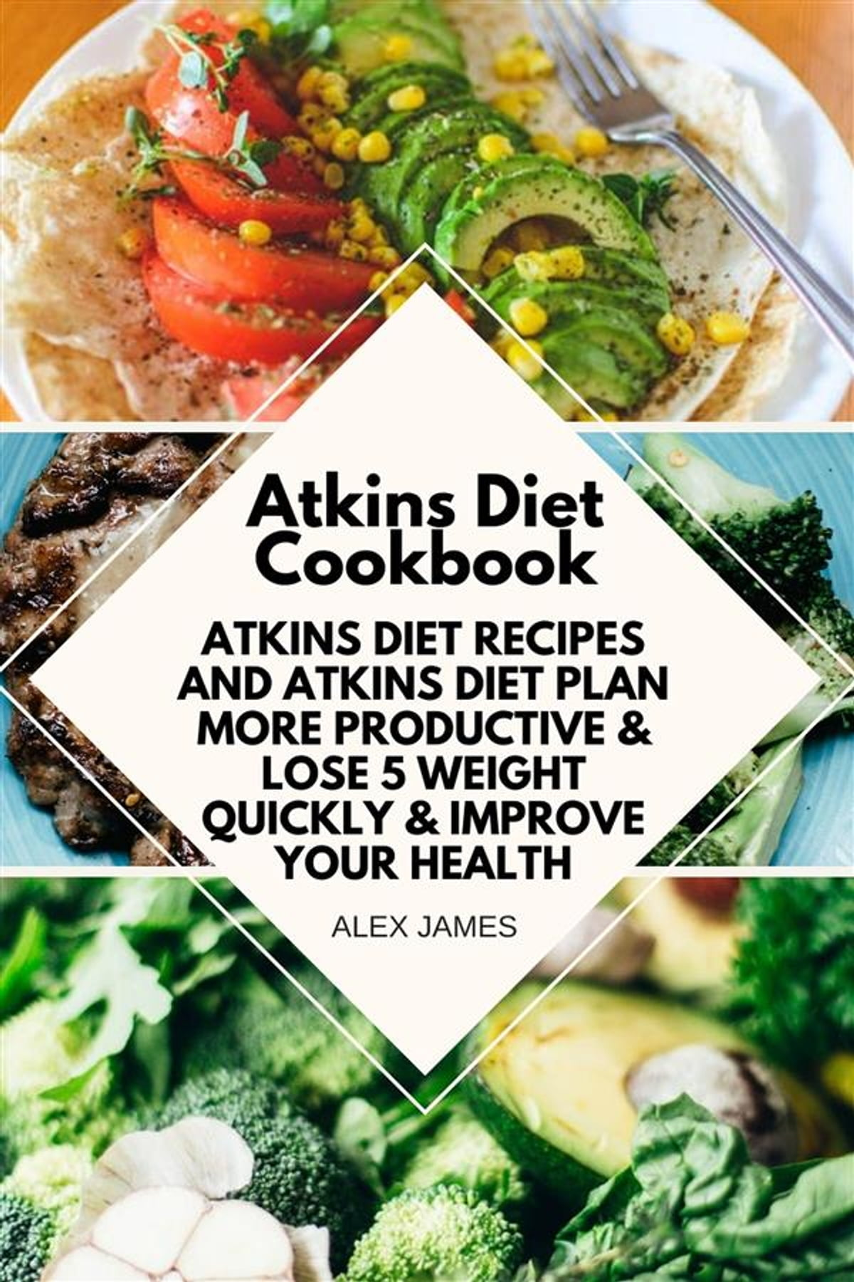 Atkins Diet Cookbook Atkins Diet Recipes And Atkins Diet Plan To Lose Weight Quickly Improve Your Health Ebook By Alex James 9788835333715 Rakuten Kobo
