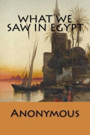 What We Saw in Egypt ebook by Anonymous