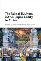The Role of Business in the Responsibility to Protect ebook by John Forrer, Conor Seyle