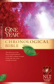 The One Year Chronological Bible NLT ebook by Tyndale