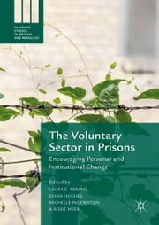 The Voluntary Sector in Prisons - Encouraging Personal and Institutional Change ebook by Laura S. Abrams,Emma Hughes,Michelle Inderbitzin,Rosie Meek