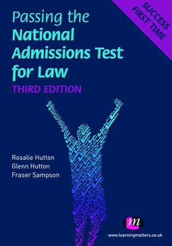 Passing the National Admissions Test for Law (LNAT) ebook by Rosalie Hutton,Glenn Hutton,Fraser Sampson