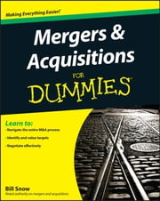 Mergers and Acquisitions For Dummies ebook by Kobo.Web.Store.Products.Fields.ContributorFieldViewModel