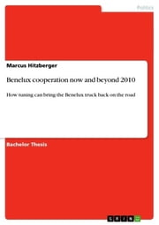 Benelux cooperation now and beyond 2010 - How tuning can bring the Benelux truck back on the road ebook by Marcus Hitzberger