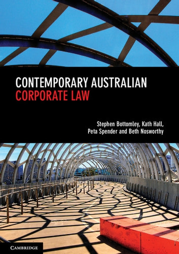 Contemporary australian corporate law ebook by peta spender contemporary australian corporate law ebook by peta spenderkath hallstephen bottomleybeth fandeluxe Choice Image