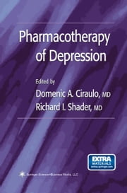 Pharmacotherapy of Depression ebook by