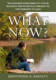 What Now? - Transform Your Bible-In-A-Year Reading From One Of Trivial Pursuit To The Pursuit Of God ebook by Kristopher K. Barnett