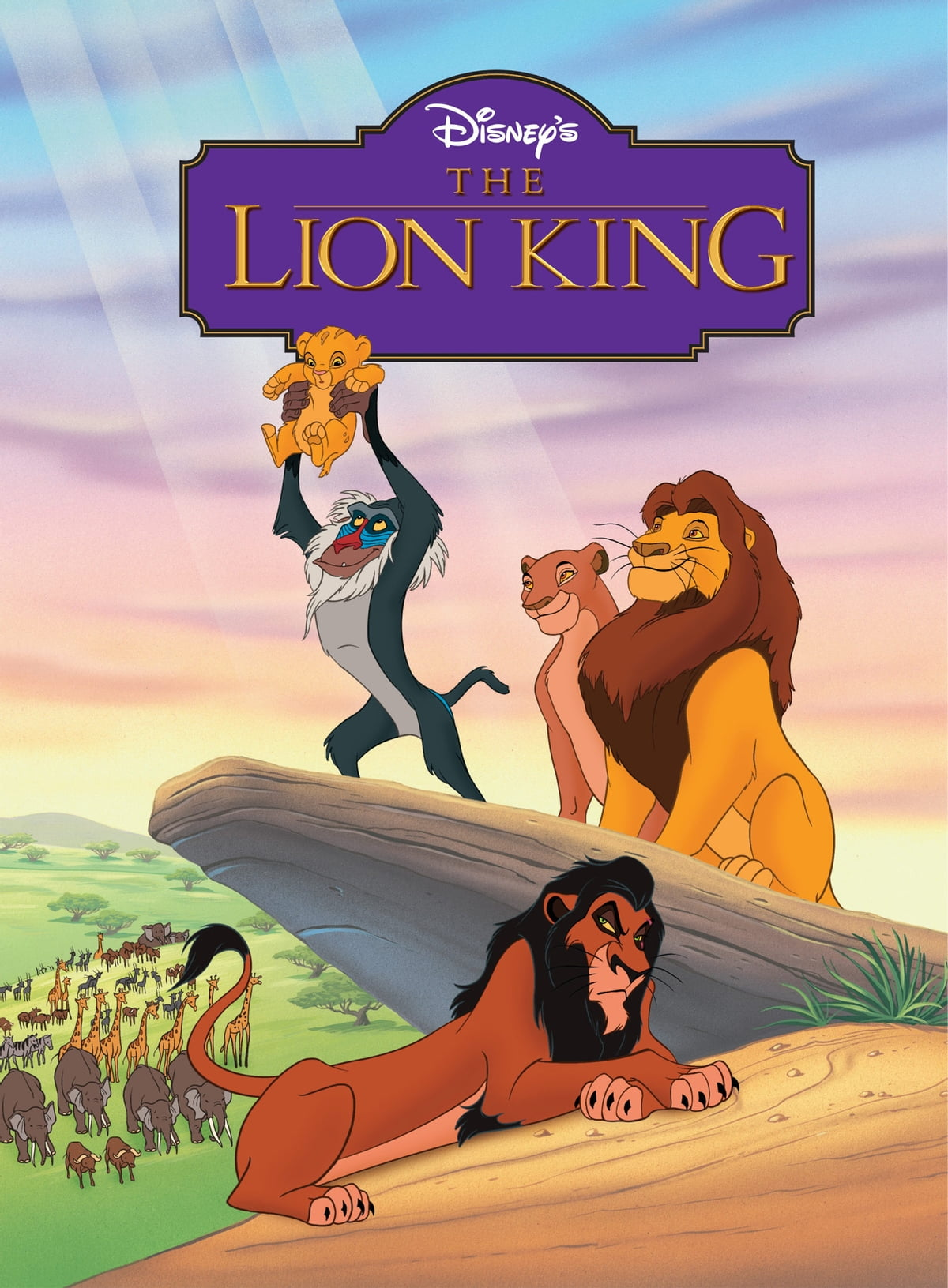 the lion king movie storybook ebook by liza baker