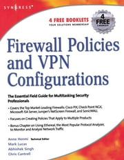 Firewall Policies and VPN Configurations ebook by Syngress,Dale Liu,Stephanie Miller,Mark Lucas,Abhishek Singh,Jennifer Davis