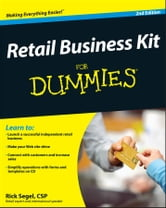 Retail Business Kit For Dummies ebook by Rick Segel