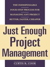Just Enough Project Management: The Indispensable Four-step Process for Managing Any Project, Better, Faster, Cheaper ebook by Cook, Curtis
