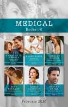 Medical Box Set 1-6/Surprise Baby for the Billionaire/Healed by Their Unexpected Family/Cinderella and the Surgeon/Miracle Baby for the Midwi ebook by Scarlet Wilson, Annie Claydon, Tina Beckett,...