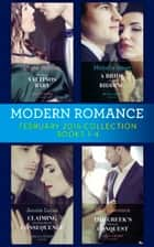Modern Romance Collection: February 2018 Books 1 - 4 (Mills & Boon e-Book Collections) ekitaplar by Lynne Graham, Michelle Smart, Kim Lawrence,...