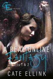 A Real Online Fantasy - Parts 1 & 2 ebook by Cate Ellink
