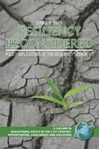 Resiliency Reconsidered ebook by Donna M. Davis