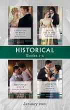 Historical Box Set Jan 2021/Lady Margaret's Mystery Gentleman/Unexpectedly Wed to the Officer/Portrait of a Forbidden Love/ ebook by Christine Merrill, Bronwyn Scott, Jenni Fletcher,...