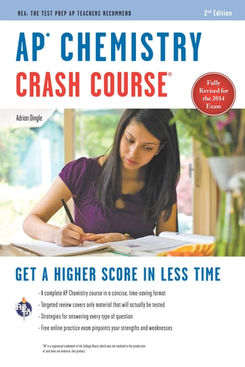 AP Chemistry Crash Course Book + Online ebook by Adrian Dingle