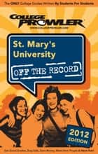 St. Mary's University 2012 ebook by Laura O'Bar
