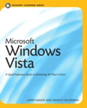 Microsoft Windows Vista - Peachpit Learning Series ebook by Larry Magid,Dwight Silverman