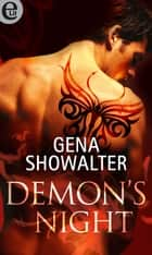 Demon's night (eLit) eBook by Gena Showalter