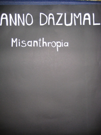 Misanthropia ebook by Anno Dazumal