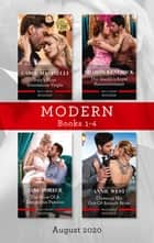 Modern Box Set 1-4 Aug 2020/Italy's Most Scandalous Virgin/The Sheikh's Royal Announcement/The Price of a Dangerous Passion/Claiming His Out-of ebook by Carol Marinelli, Sharon Kendrick, Annie West,...