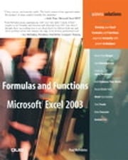 Formulas and Functions with Microsoft Excel 2003 ebook by Paul McFedries
