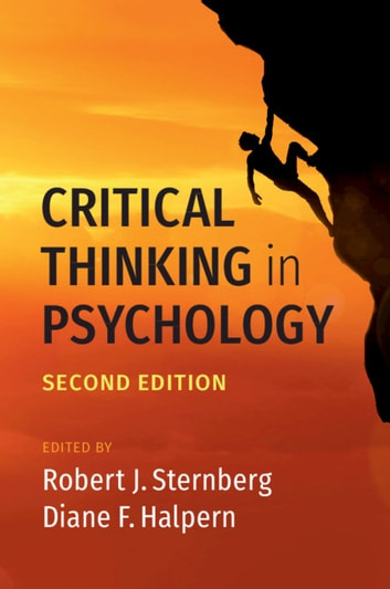 Critical Thinking in Psychology ebook by