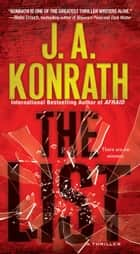 The List - The Most Surprising Thriller of the Year ekitaplar by J.A. Konrath