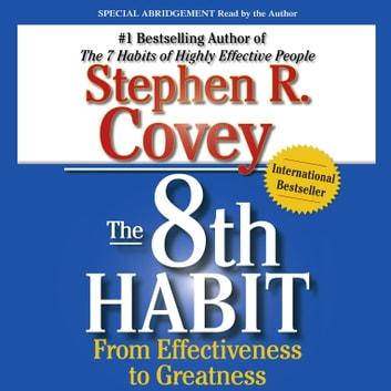 The 8th Habit Audiobook By Stephen R Covey 9781442350830