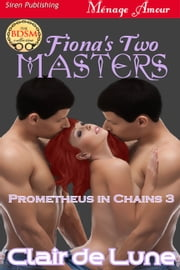 Fiona's Two Masters ebook by Clair de Lune