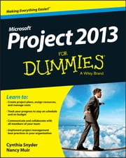 Project 2013 For Dummies ebook by Cynthia Snyder Stackpole