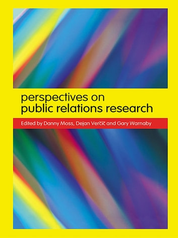 Perspectives on Public Relations Research ebook by Danny Moss,Dejan Vercic,Gary Warnaby