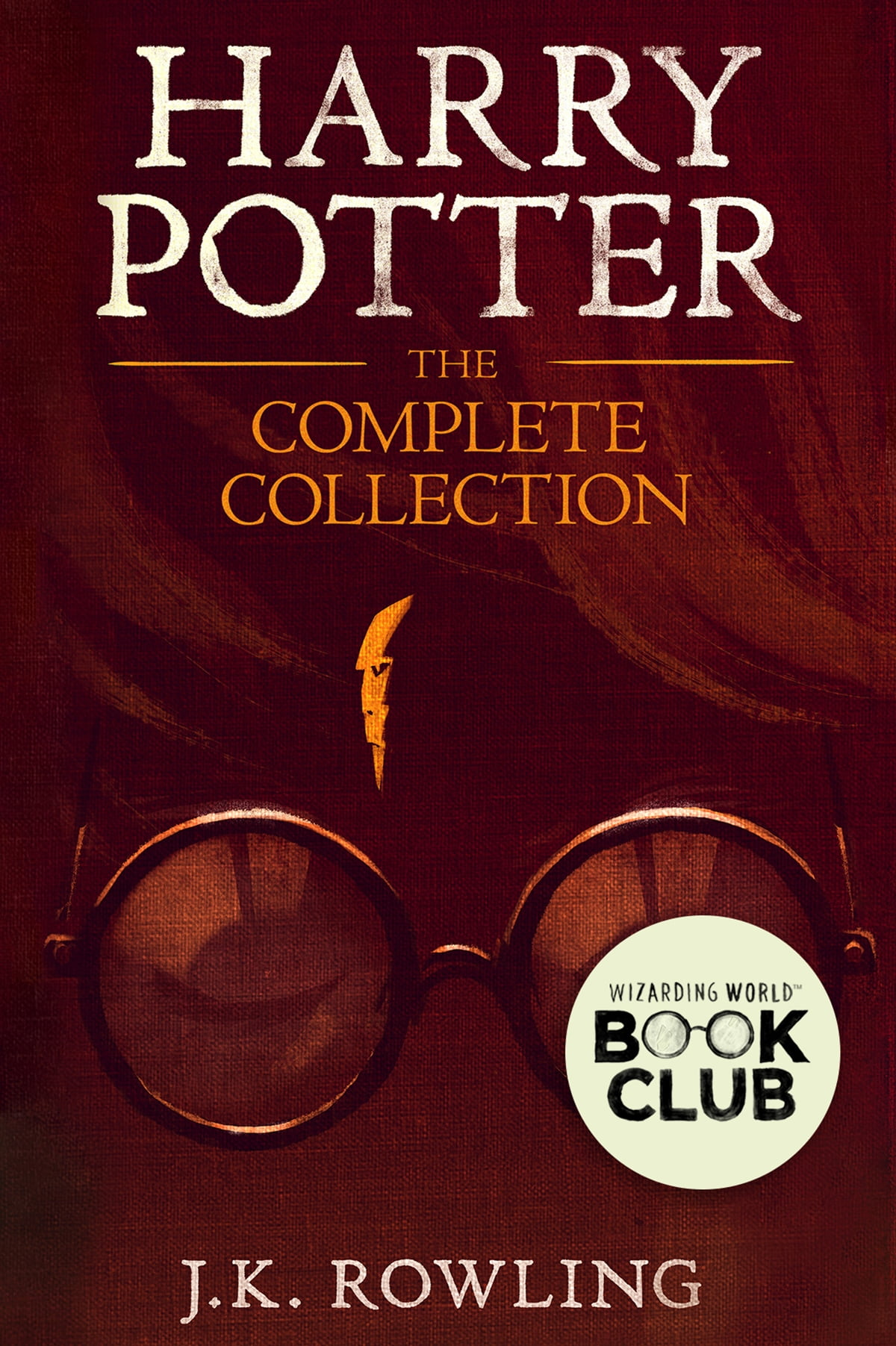 Harry Potter: Theplete Collection (17) Ebook By Jk Rowling,